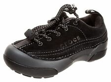 New! Crocs Toddlers ~Dawson~ Sneaker-Style 11464-Size 8-Black (77E)