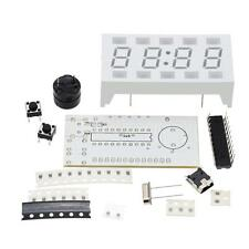 4-digit LED USB Digital Electronic Clock DIY Kit White Desktop Mini-Clock 4Z69