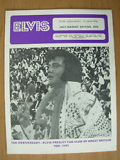 ELVIS PRESLEY FAN CLUB MAGAZINE JULY / AUGUST 1973