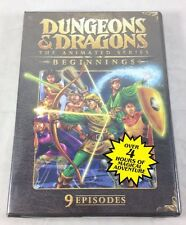 Dungeons & Dragons Animated Series DVD Beginnings 9 Eps 4 Hrs 1980s D&D Cartoons