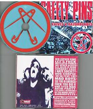 Safety Pins ‎– Steel Knives & Razorblades CD 1997