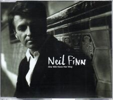NEIL FINN - SHE WILL HAVE HER WAY - RARE PROMO CD SINGLE - MINT