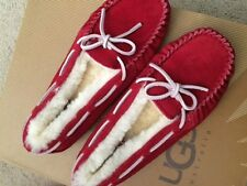 UGG Girl's Red Slippers/Sparkle 3Youth - Brand New