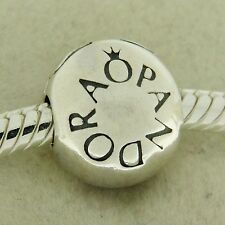 Authentic Pandora 791015 Loving Pandora Clip Sterling Silver Bead Charm