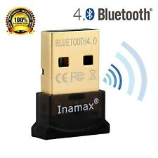 Inamax Bluetooth 4.0 USB Dongle Adapter for PC with Windows 10 / 8.1 / 8 / 7 ...