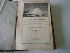 la Nature revue des sciences Gaston Tissandier 1890 2eme semestre