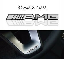 Amg steering wheel sticker badge logo emblème mercedes benz jantes en alliage smart classe