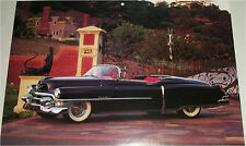 1953 Cadillac Eldorado Convertible car print (black, no top)
