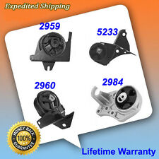 Fits:1996-2000 Dodge Caravan 3.0/3.3/3.8L Engine Motor&Trans Mount Set 4PCS M833