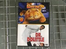 * NEW DVD Film * GARFIELD / DO DOLITTLE * BILL MURRAY & EDDIE MURPHY double pack