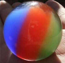 38- 40mm 3 color Mexican Opal Sphere Crystal Ball/Gemstone + Stand