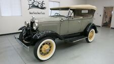 Ford : Model A PHAETON 4 DR