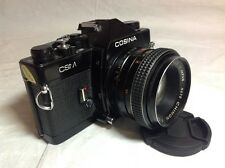 Cosina CSM SLR Camera with Chinon 55mm f1.7 M42 Lens