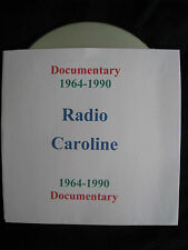 Pirate Radio CD. Radio Caroline Documentary 1964-1990