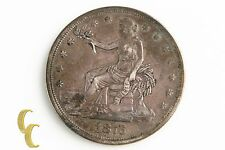1876 T$1 Trade Dollar, XF+ Condition, Medium Toning on Both Sides, Strong Detail