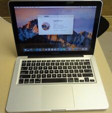 "Apple MacBook Pro mid 2012 A1278 13""  Intel core i7 ,2.9GHz ,8GB RAM,500GB HD"