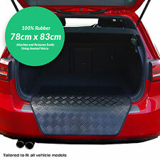 Ford Focus Mk3 2015+ Rubber Bumper Protector + Velcro! [BK]