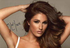 LUCY PINDER ~ ENGLISH GLAMOUR MODEL ~ HAND-SIGNED 12X8 PHOTO + COA [Ref.1]