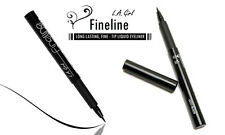LA L.A. Girl Fineline Long Lasting Black Liquid Eyeliner - Fine Tip