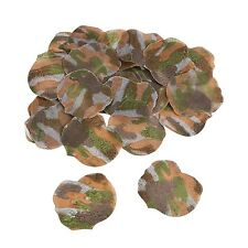 Camouflage PETALS  Camo Hunting Wedding Flower  Aisle Decoration Party