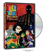 TEEN TITANS - TROUBLE IN TOKYO  -  DVD - UK Compatible - New & sealed