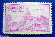 Sc # 992 ~ 3 cent National Capital Sesquicentennial Issue