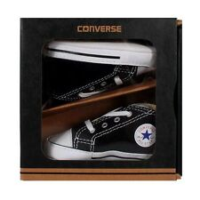 Converse Classic First Star Black Crib shoes newborn Toddlers US size 4, 12 cm