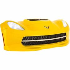 Yellow Chevrolet Corvette Wall Decor with LED Lights-US ships from USA