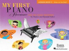 My First Piano Adventure Lesson Play-Along Learn to Play TUTOR MUSIC BOOK C & CD