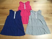 GIRLS EX MINI BODEN VEST TUNIC TOP TSHIRT 2 3 4 5 6 7 8 9 10 11 12 13 14