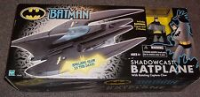 RARE Batman Animated Shadowcast Batplane Figure Cartoon Vehicle NEW MISB SET
