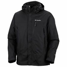 NEW Mens Columbia Lhotse Mountain II Black 3in1 Interchange Ski Jacket Coat 4X