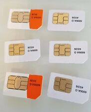LOT OF 50 NEW FULL SIM REGULAR Standard CARD AT&T GO PHONE GSM READY TO ACTIVATE