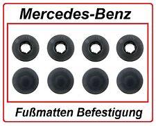 Befestigung Clip für Fußmatten Automatten + Gummimatten Mercedes-Benz 4 X SET