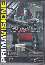 Dvd **SWEENEY TODD** con Johnny Deep nuovo 2008