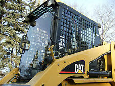 "Caterpillar Cat 1/2"" EXTREME DUTY FRONT DOOR!!! .Skid steer window glass cat"