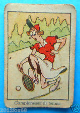 figurines cards figurine umoristiche anni 30 40 v.a.v. vav tennis players tenis