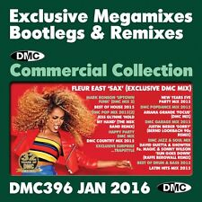DMC Commercial Collection 396 Mixed DJ Music CD inc New Years Eve 2015 Party Mix