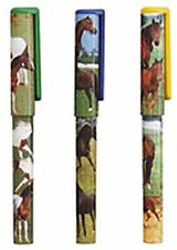 HORSE & WESTERN GIFTS ART CRAFT COLLECTIBLE HORSES COLLAGE CAPPED PEN BLACK INK