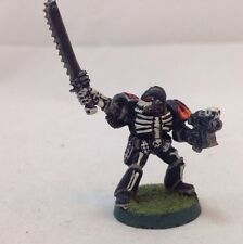 Legion Of The Damned Legionnaire Sergeant  Metal Pewter Space Marine Painted 1
