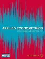 Applied Econometrics by Dimitrios Asteriou and Stephen G. Hall (2011,...
