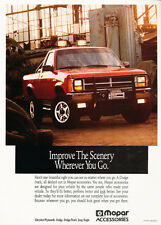 1990 Dodge Dakota Truck Mopar  - Original Car Advertisement Print Ad J173