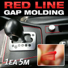 Edge Gap Red Line Interior Point Molding Accessory Garnish 5M for NISSAN GT-R