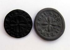 14TH CENTURY MEDIEVAL BRONZE SEAL MATRICE MOTTO:FEAR GOD