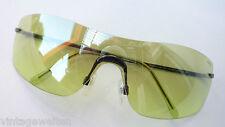 Missoni coole Sonnenbrille durchgehende Scheibe grün verspiegelt randlos Sport