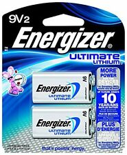 Energizer Ultimate Lithium 9V Battery 2 Count