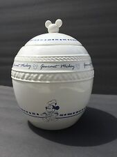 Walt Disney Attractions Gourmet Mickey Mouse Cookie Jar Canister EUC