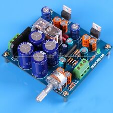 Double Channel HIFI LM1875T Power Amplifier w UPC1237 Speaker Protection DIY Kit