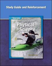 Glencoe Introduction to Physical Science, Grade 8, Study Guide and Reinforcement
