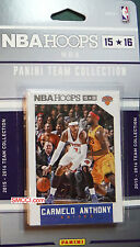 New York Knicks 2015 16 2016 Hoops Factory Team Set Carmelo Kristaps Porzingis